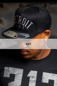 Detroit Life Clothing Hat